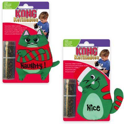 KONG Refillables Katzenspielzeug (2 Stück)