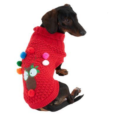 Weihnachtspullover für Hunde