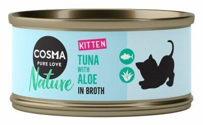Desparasitação interna dos gatinhos: comida húmida ideal para gatinhos