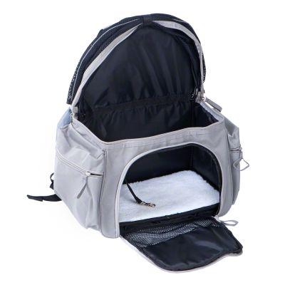 Acessórios para gatos: mochila de transporte para viagens confortáveis